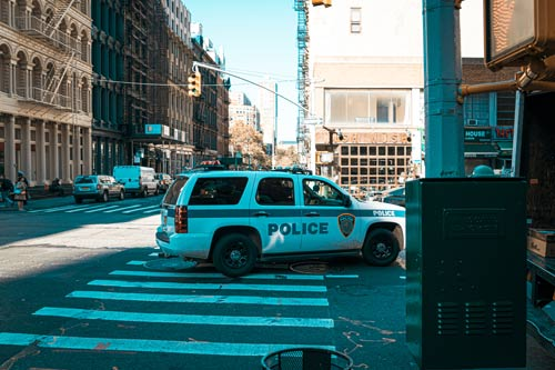 Lawyer for police car accidents
